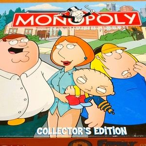Family Guy Monopoly Collectors Edition (Rare!)